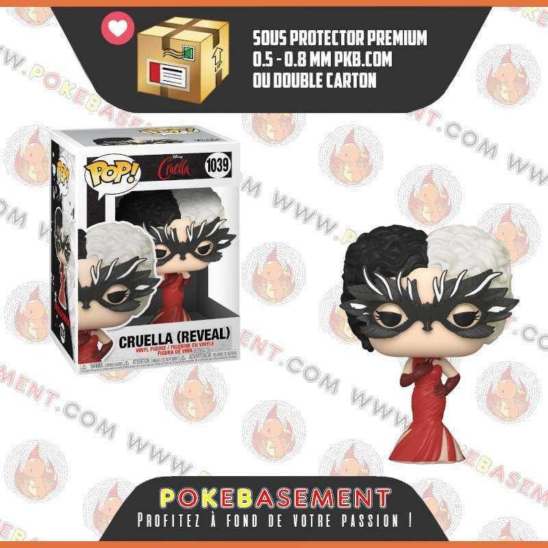 Funko Pop Disney Cruella 1039 - Cruella (Reveal)