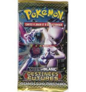 1X Booster Pokémon Noir et...