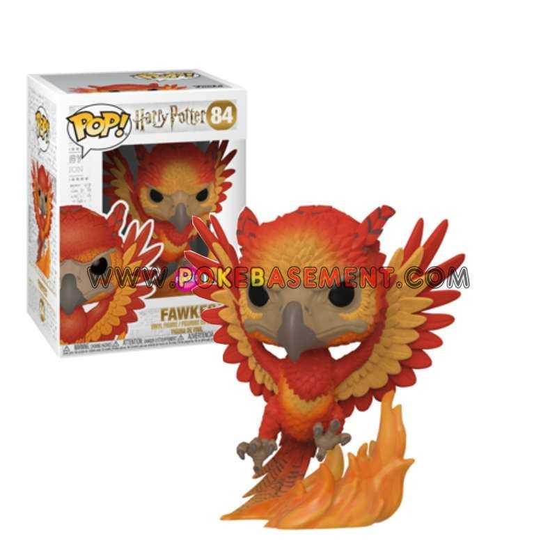 Funko Pop Harry Potter 84 Fawkes Fumseck Flocked Funko