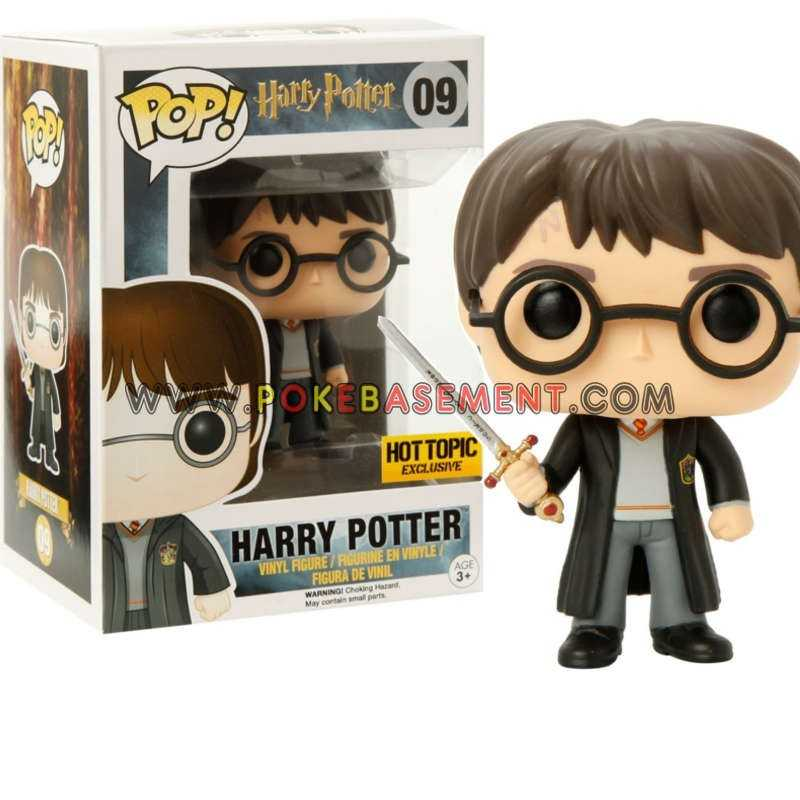 Calendrier De Lavent Harry Potter Funko Pop.Funko Pop Harry Potter 09 Harry Potter With Sword Of Gryffindor Exclusive Hot Topic