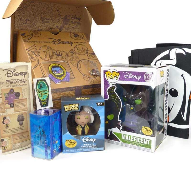 Funko Treasures Box Disney Haunted Forest Pop Maleficent 327 Super Sized 6 Exclusive Disney