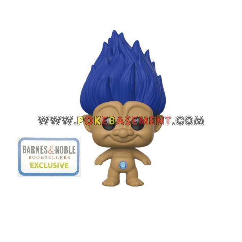 Funko Pop Good Luck Trolls - Blue Troll EXCLUSIVE Barnes & Noble