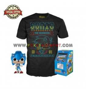 Funko Pop Tees Sonic The...