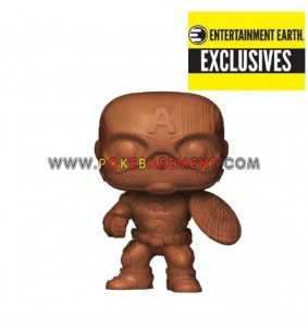 Funko Pop Marvel - Wooden...