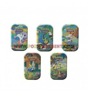 Lot des 5 Pokebox Mini Tins...