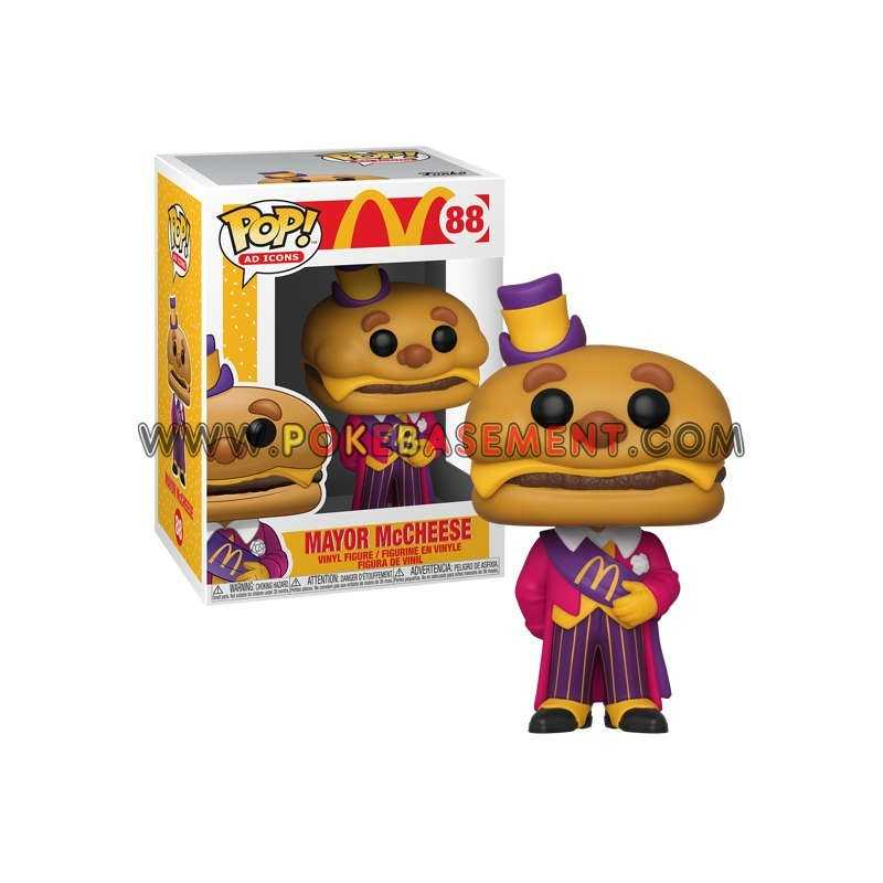 Funko Pop Ad Icons Mcdonald S 88 Mayor Mccheese He has a giant cheeseburger head. funko pop ad icons mcdonald s 88 mayor mccheese